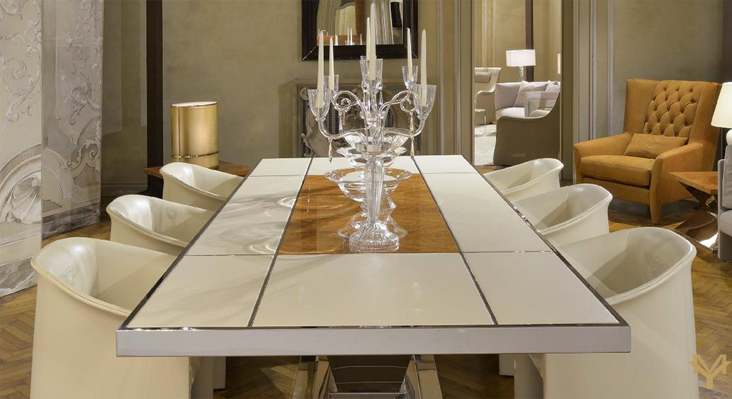 Luxury Balmoral Table Custom Execution Available Luxuryhomemy